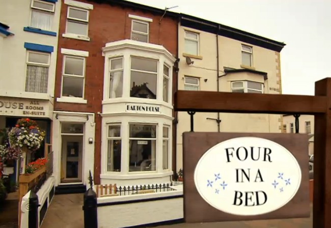 Channel 4's 'Four in a bed'.